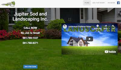 Jupiter Sod and Landscaping Inc.