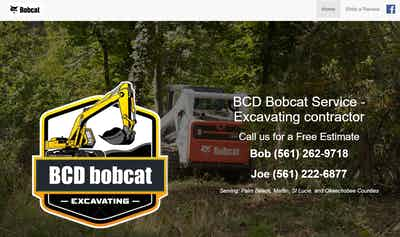 BCD Bobcat Service - Excavating Contractor