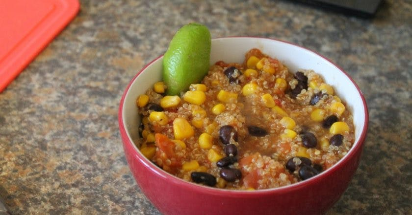 Slimming World Tex-Mex Style Quinoa recipe