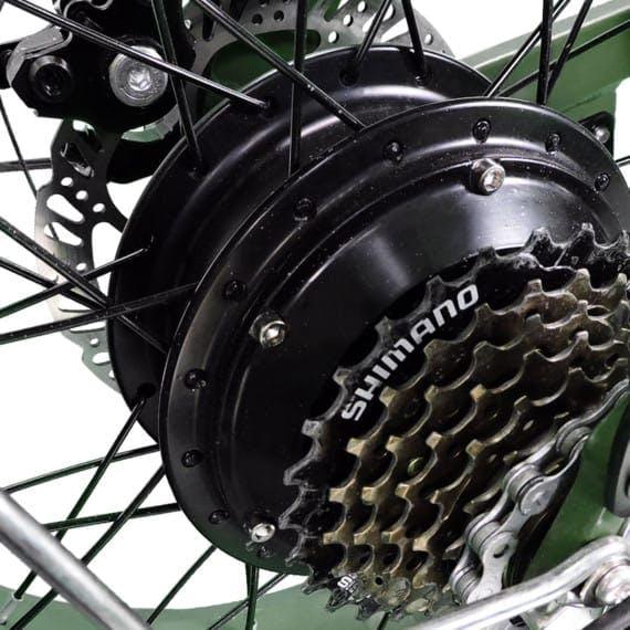 small wheel electric bike