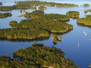 Islands in the 1000 Islands