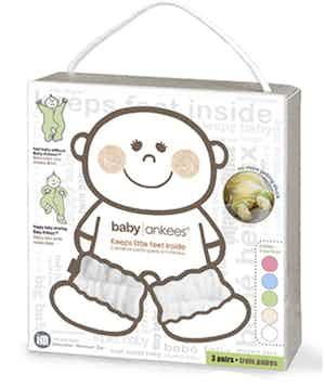 Baby Ankees Fluffy White 3-Pack