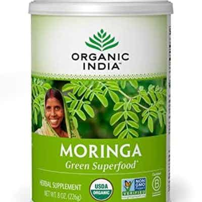 ORGANIC INDIA Moringa Supplement Powder, Immune Support, 8 Ounce