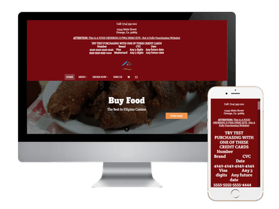 Full eCommerce Store Fronts