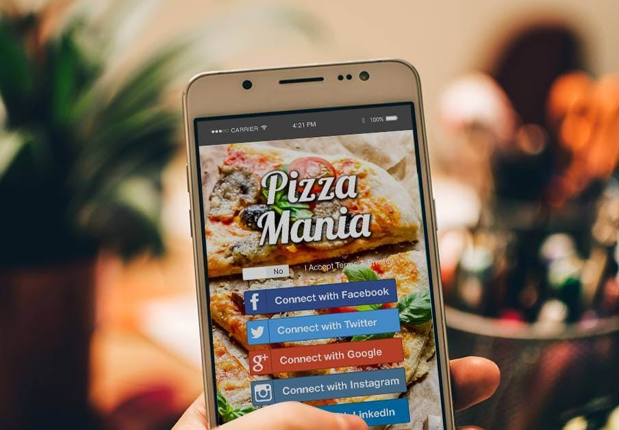wifi marketing for pizza shops