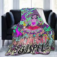 Midnight Gospel Flannel, Fleece Throw Blanket