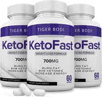 (3 Pack) Keto Fast Diet Pills Keto Fast 700 mg Burn Weight Management Capsules