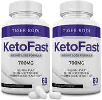 (2 Pack) Keto Fast Diet Pills Keto Fast 700 mg Burn Weight Management Capsules