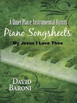 My Jesus I Love Thee – Songsheet (PDF)
