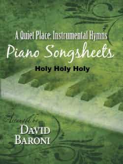Holy Holy Holy – Songsheet (PDF)
