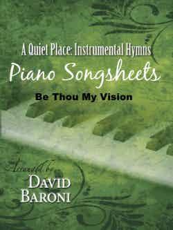 Be Thou My Vision – Songsheet (PDF)