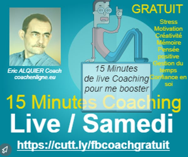 Coaching gratuit live facebook