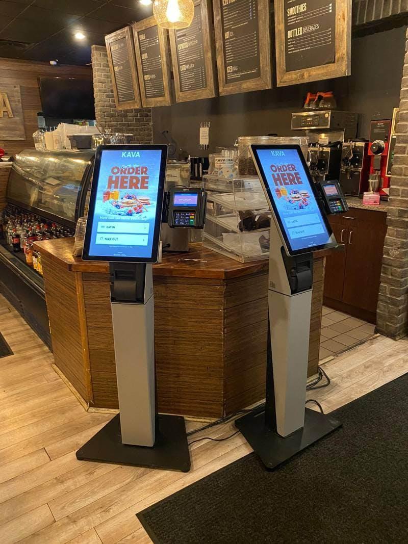 self serving kiosk
