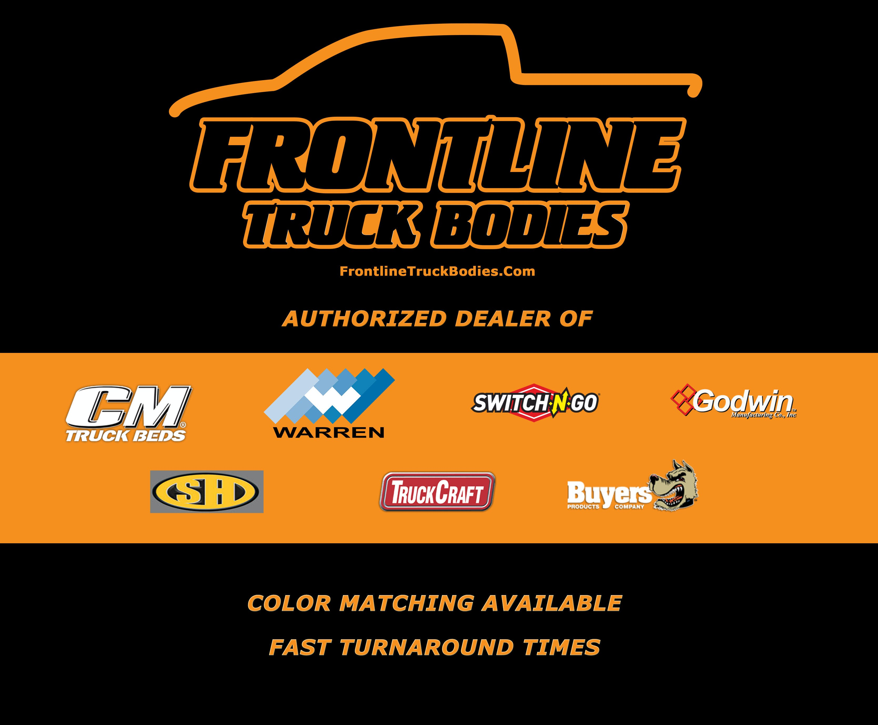 frontline truck bodies for sale