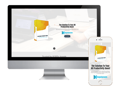 Landing - HR Management Software Landing Light