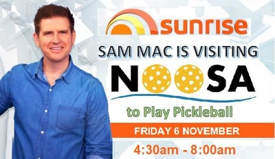 Pickleball on Sunrise