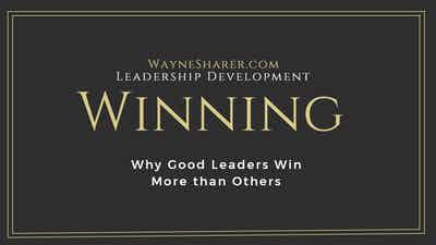 Winning - Why Good Leaders Win More than Others