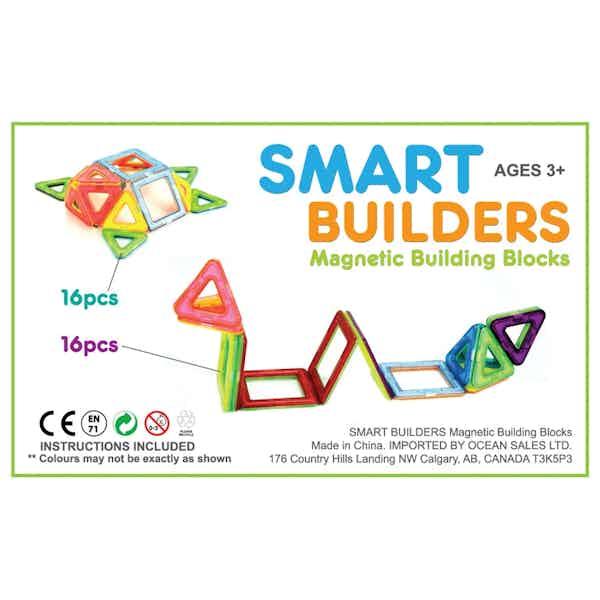 8 BIG SETS & 8 STARTER SETS - SMART BUILDERS