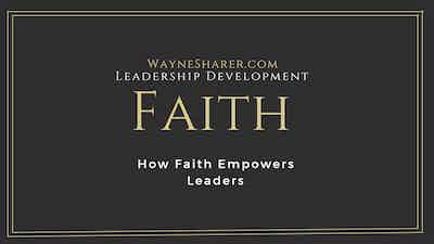 How Faith Empowers Leaders
