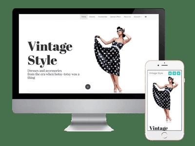 ecommerce vintage dresses