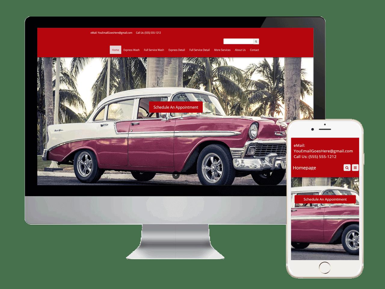 mobile automotive detailing