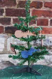 Nashville Skyline Ornaments
