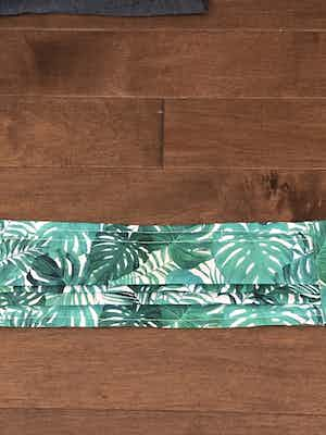 """""""Tropical Leaves"""" Style Mask"""
