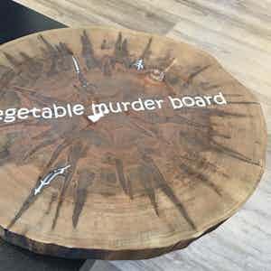 Ambrosia Maple Wood Round Cutting Board