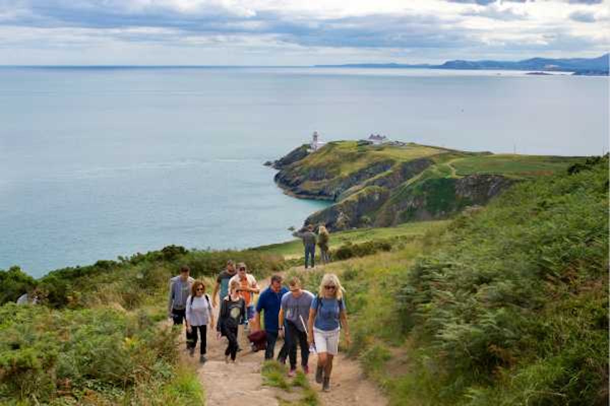 Inspirational outdoor team building tours howth