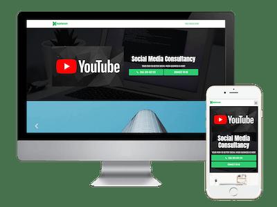 Landing - Social Media Consultancy