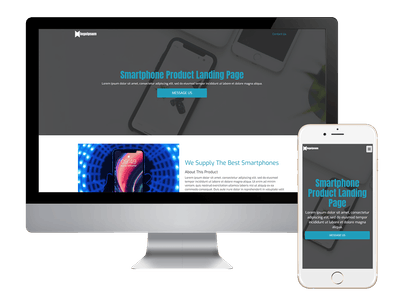 Landing - Smartphone Product Landing Page