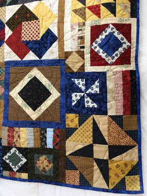 Gypsy's Wife 2 Lap Quilt