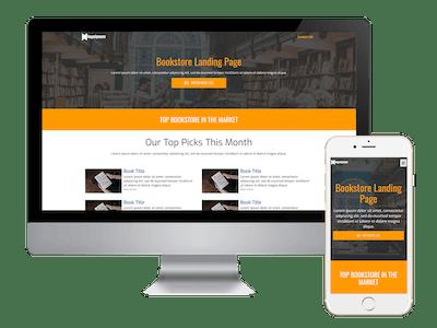 Landing - Bookstore Landing Page