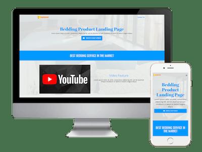 Landing - Bedding Product Landing Page