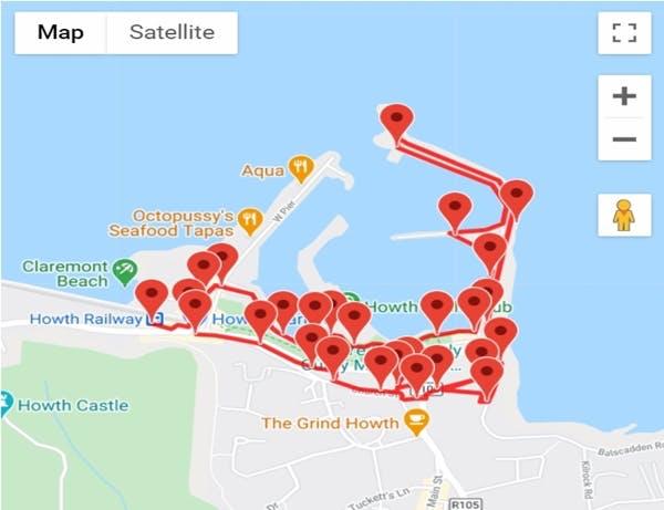 Howth Harbour Audio GPS Tours