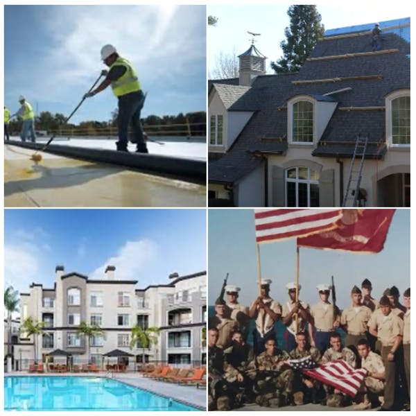 Veteran owned roofing contractor