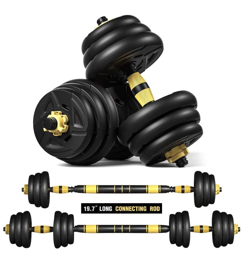 FITYOU COMPLETE SUGGESTED EQUIPMENT FOR AT HOME WORKOUTS
