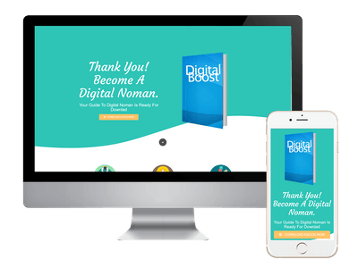 Thank You - Digital Boost Thank You