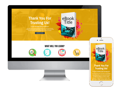 Thank You - eBook Download Page Thank You