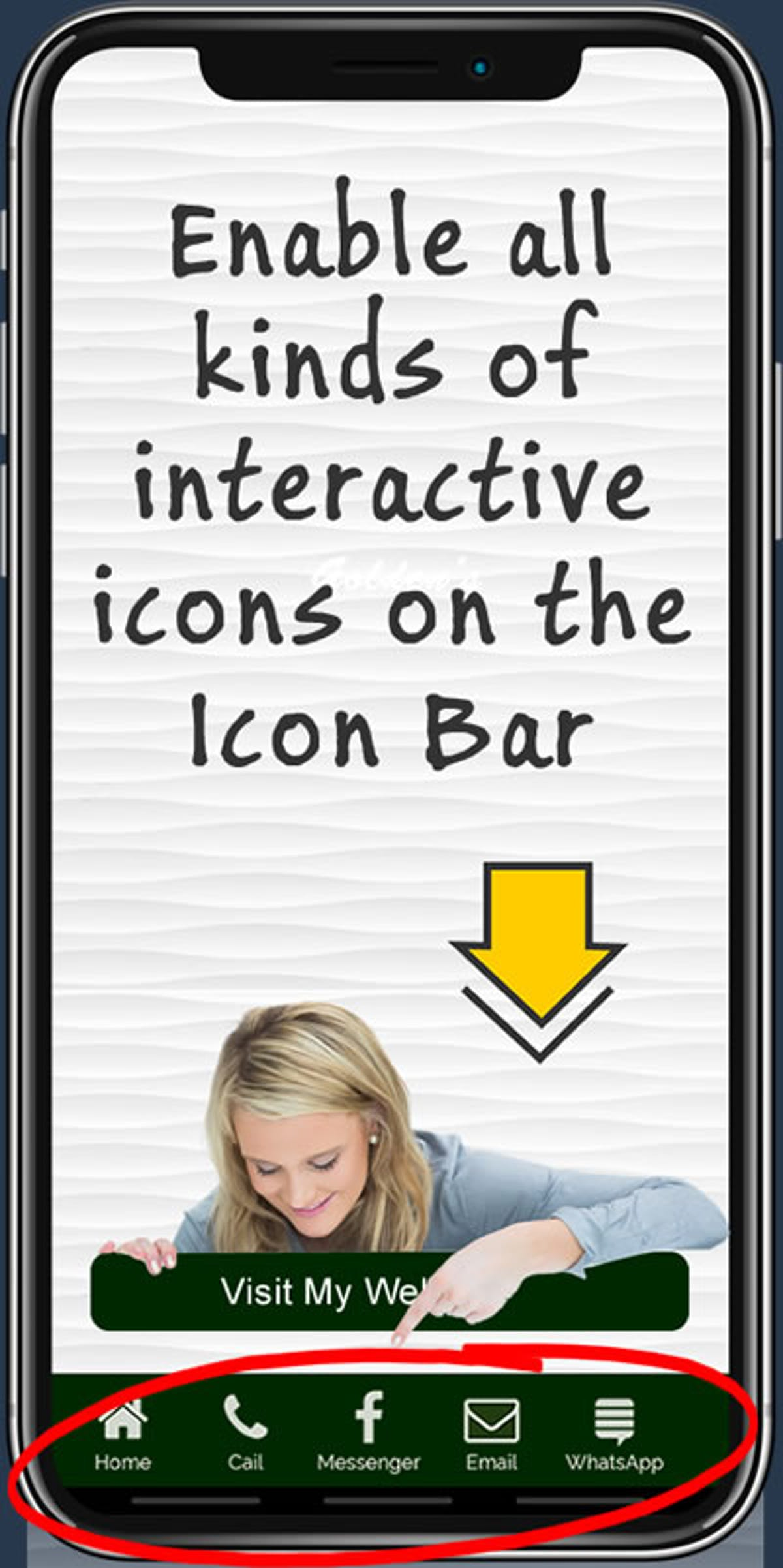 Enabling Interactive Features