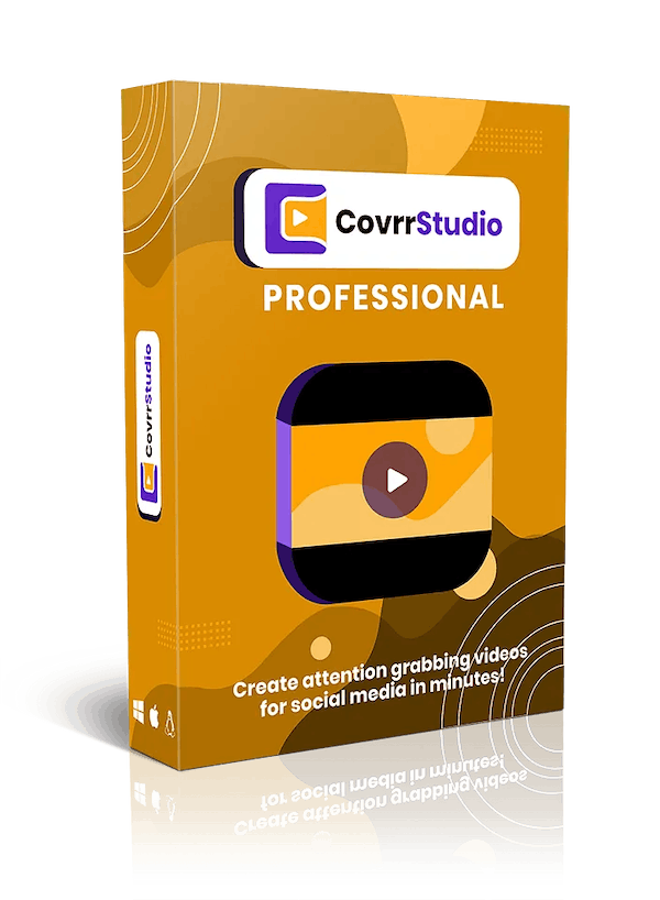 Covrr Studio Front End + OTO 1 Engaging Video Editor That Will Capture Attention