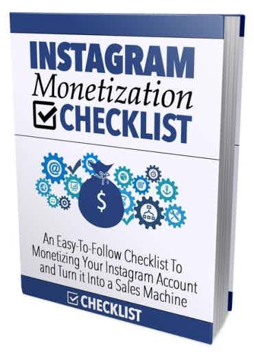 Instagram Monetization Checklist