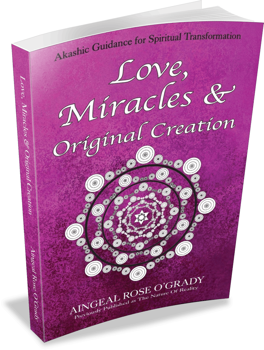 Love, Miracles & Original Creation by Aingeal Rose answers who we are, where we're going, how we get there and what to expect when we arrive.