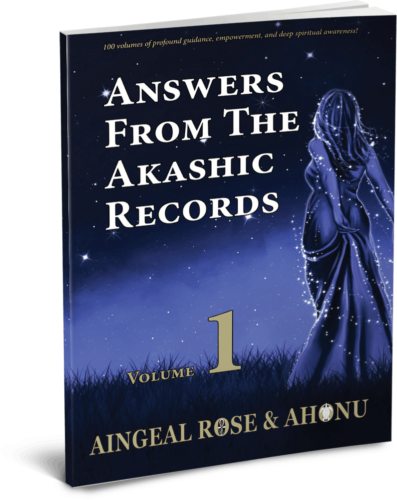 Answers From The Akashic Records Vol 1-100 by Aingeal Rose.