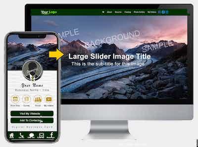 Desktop Style 5  (Image Slider Version)