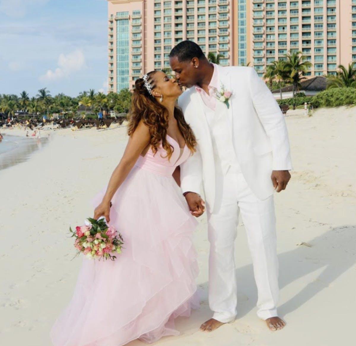 Nassau Bahamas Beach wedding