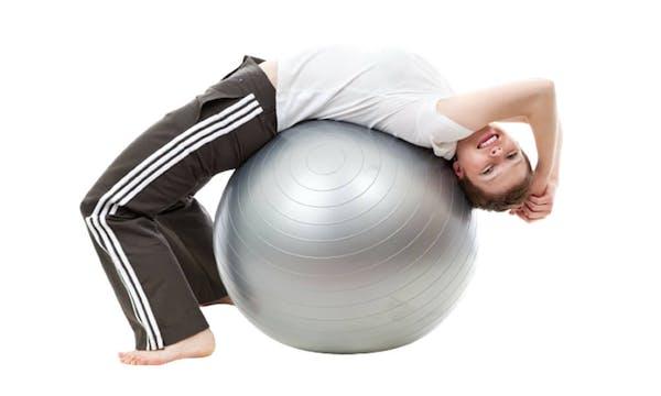 Cvičení na balónu
