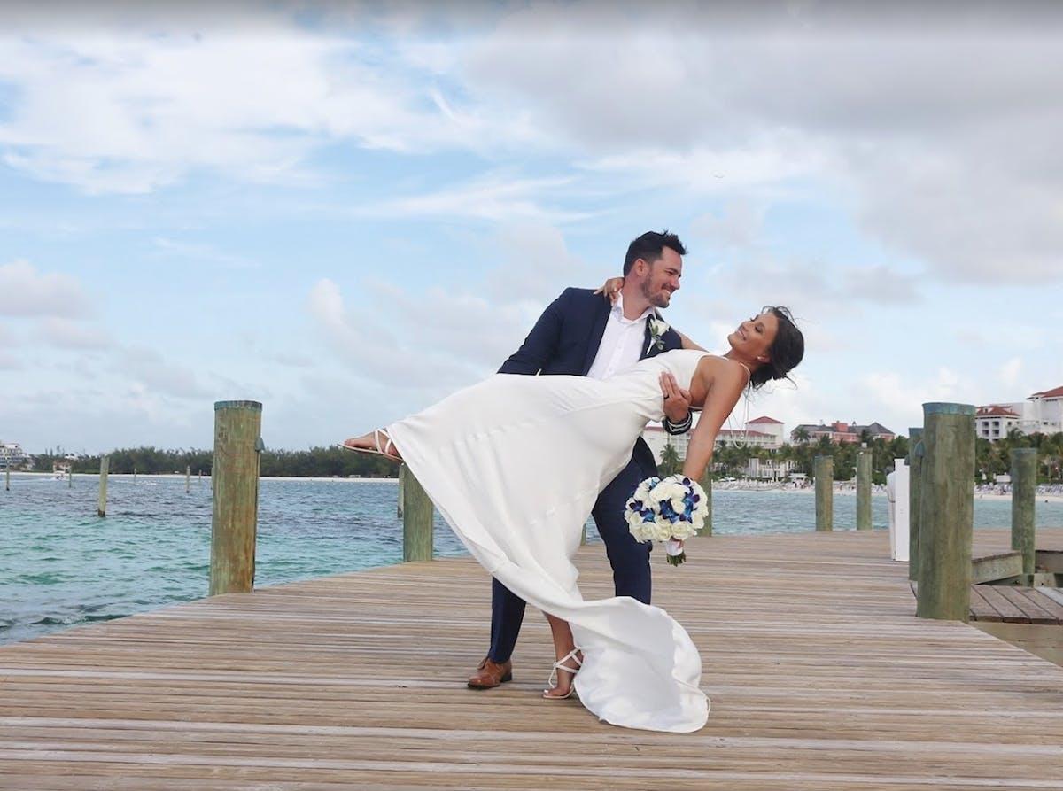 Grand Hyatt Baha Mar couple eloping in The Bahamas