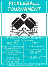 Somerville Pickleball Tournament