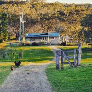 Flagrock Farmstay - The Dairy Cottage